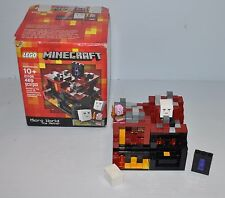 LEGO MINECRAFT #21106 Micro World The Nether Complete