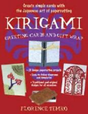 Kirigami Greeting Cards and Gift Wrap by Temko, Florence, Good Book