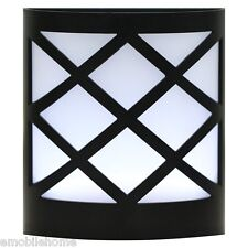 NEW! N763 Solar LED Wall Lantern Lamp Light