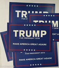 Donald Trump For President 2016 FIVE Campaign Posters  - FREE SHIPPING