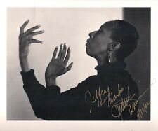 JUDITH JAMISON Signed B&W Book Photograph by Yousuf Karsh ALVIN AILEY DANCE