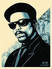 2 Obey Giant Ice T prints, Red and Blue, Matching numbers!!  only 300 printed