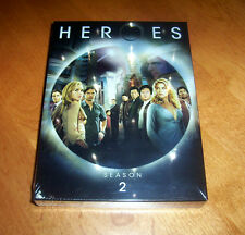 Heroes Season 2 Two Classic Sci-Fi Television TV Series NBC 4 DVD SET Sealed NEW