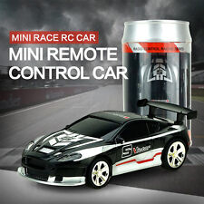 1PC Coke Can Mini Remote Radio Control Electric RC Speed Micro Racing Car Toys