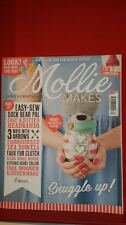 Mollie Makes Magazine + Free Gift Issue 62  Knitting Embroidery Crochet Sewing