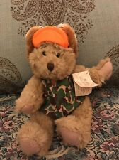 Russ Bears from the Past Buck the Hunter bear Camouflage W/ Tag No Shorts #1S