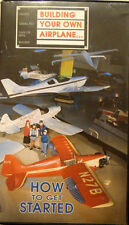 Building Your Own Airplane... How to Get Started VHS Tape Experimental Aircraft