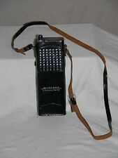 Vintage 60's Midland 2-Channel 10-Transitor 13-110G  CB Walkie Talkie w/ Case