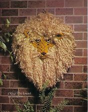 Whispers of the Frost Macrame Patterns Instructions Book #772 Lion Wall Hangings