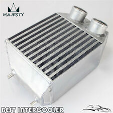 "Twin 2 rows Side Mount Intercooler 2.25"" In/outlet For Renault 5 GT Turbo 85-91"