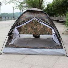 Camo Outdoor Camping Waterproof 2-3 Person Folding Tent Camouflage Hiking