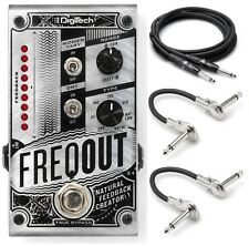 New DigiTech FreqOut Natural Feedback Creator Guitar Effects Pedal!