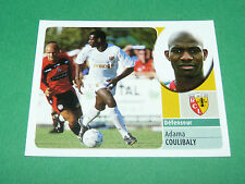 ADAMA COULIBALY RC LENS RCL BOLLAERT  PANINI FOOT 2003 FOOTBALL 2002-2003