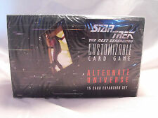 STAR TREK CCG ALTERNATE UNIVERSE FACTORY SEALED BOOSTER BOX