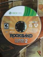 Rock Band: Country Track Pack 2 (Microsoft Xbox 360,) Disc Only