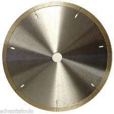 "7"" Wet Continuous Thin Rim Diamond Saw Blade for Porcelain Granite Tile"