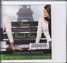 Anna and the French Kiss by Stephanie Perkins (2011, CD, Unabridged) Teen Novel