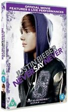 JUSTIN BIEBER NEVER SAY NEVER JADEN SMITH PARAMOUNT UK 2011 REGION 2 DVD VGC