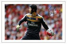 PETR CECH ARSENAL SIGNED AUTOGRAPH PHOTO PRINT  SOCCER