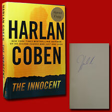 The Innocent by Harlan Coben (2005,HC,1st/1st,New) with Signature
