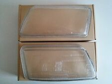 AUDI A4 B5 1995 - 1998 Headlight Lens Glass PAIR ( Left + Right )