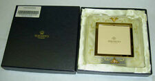 """Genuine MIKIMOTO 2 x 4mm Akoya Pearl Satin Lucite 2.5"""" Picture Frame New in Box"""