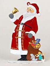 Artist Wilhelm Schweizer German Christmas Pewter Zinnfiguren - Santa Claus 1987