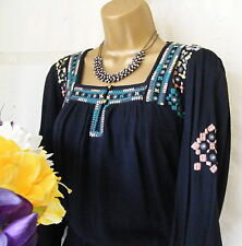 "******MONSOON BNWT ""MANDOZA NAVY"" DRESS SIZE 18******"