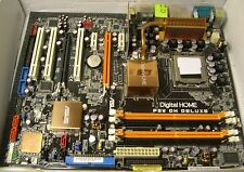 ASUS P5W-DH Deluxe Motherboard (for parts or not working) Intel LGA 775 ATX