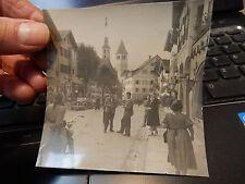 Kitzbühel  1945 - 46   PRIVATE PHOTOGRAPH  lj    90 x 90 mm