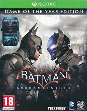 Batman Arkham Knight Game of the Year Edition GOTY Xbox One Game NEW REGION FREE