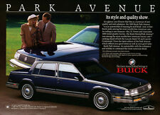 1989 Buick Park Avenue print ad Style and Quality