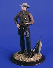 """Verlinden 120mm (1/16) """"High Noon"""" Sheriff w/Winchester Rifle and Tombstone 2451"""