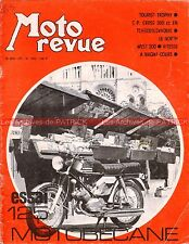 MOTO REVUE 1985 MOTOBECANE 125 DC Tourist Trophy MAGNY COURS North West 200 1970