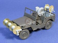 Resicast 1/35 US Willys MB Cable Layer Jeep Conversion Set WWII (Tamiya) 351176