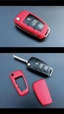 Audi Remote Flip Key Cover Case Skin Shell Cap Fob Protection Hull S Line Red
