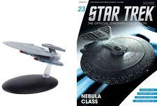 STAR TREK Official Starships Magazine #23 USS HONSHU Nebula class Eaglemoss