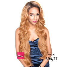 "Isis Brown Sugar Human Hair Style Mix Silk Lace Wig BS610 4""X4"" Lace Front"