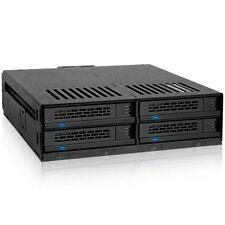 """Icy Dock MB324SP-B ExpressCage Drive Enclosure 4 Bay 2.5"""" SAS SATA HDD SSD Hot"""