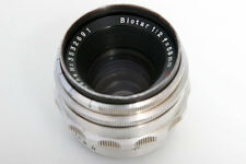 Zeiss Biotar 58mm f2 Lens For Exakta S#3532691