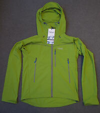RAB Sawtooth softshell jacket hooded ski mountaineering Mens M Green