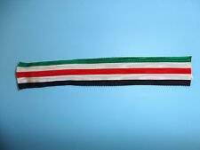 b4161 Italian German WWII North African Campaign Ribbon for medal 30mm