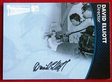 THUNDERBIRDS 50 YEARS - David Elliott - Autograph Card - Unstoppable Cards