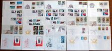 25x Brief DDR FDC 1983 Ersttagsbrief Lot Posten Sammlung SST (43