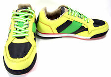 Ceaser Lunix Shoes CLX Runner SP Yellow/Green Sneakers Size 13 EUR 47
