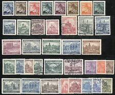 160+ CZECHOSLOVAKIA BOHEMIA MORAVIA Deutsches Reich Stamps Collection MINT USED