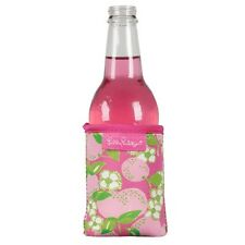 LILLY PULITZER Pink Green TOOTIE FRUITIE Drink Hugger Holder Koozie NWT NEW