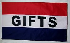 Gifts And Sale Flags Combo Both 3' X 5' Indoor Outdoor Business Banners