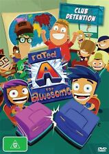 Rated A For Awesome - Club Detention DVD Brand New Region 4