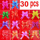 30 pc Pull Flower Ribbon Bow Birthday Party Wedding Gifts Easy To Make New PARTY